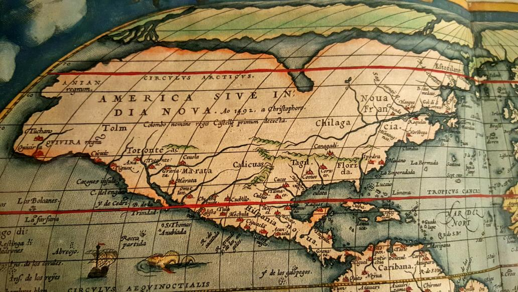 Erik Kwakkel on Twitter   Nice   America in a map published in 1603     Erik Kwakkel on Twitter   Nice   America in a map published in 1603   new  India  by Columbus in 1492   by Abraham Ortelius  AmsterdamUnivLibr