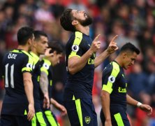 Video: Stoke City vs Arsenal