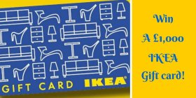 Win a 1,000 Ikea card!Just click => FreebieFriday DIY winitwednesday