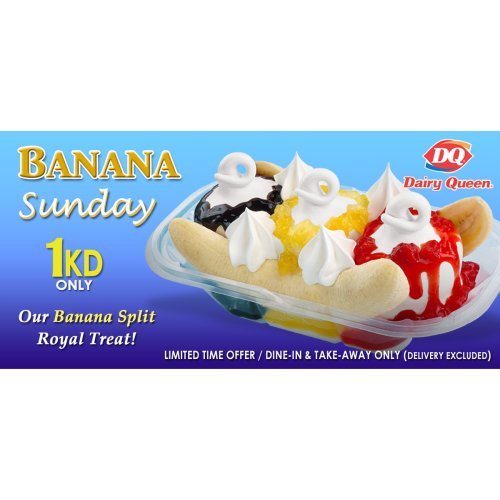 Medium Crop Of Dairy Queen Banana Split