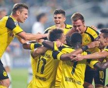 Video: Legia Warszawa vs Borussia Dortmund