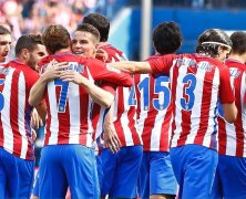 Video: Atletico Madrid vs Sporting Gijon