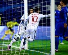 Video: Dinamo Zagreb vs Olympique Lyon