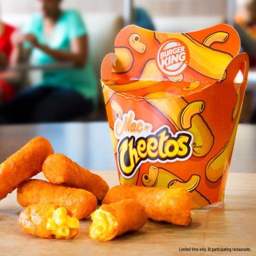 Medium Of Burger King Mac And Cheetos
