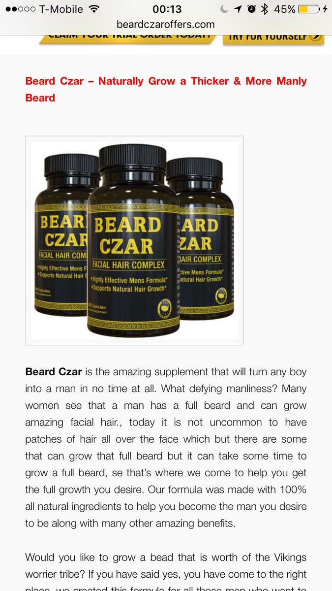 Large Of Beard Czar Review