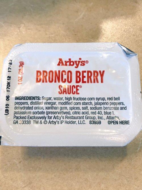 Medium Of Bronco Berry Sauce