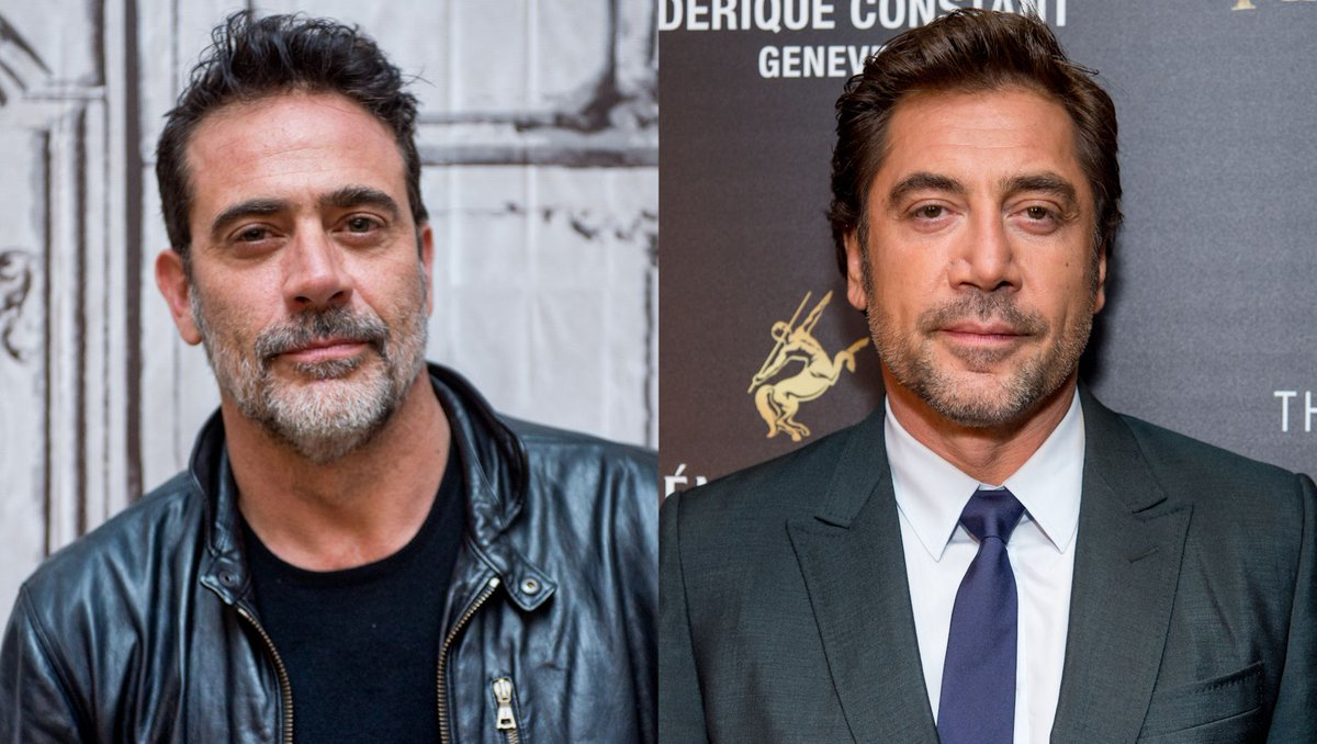 Iris on Twitter   Has anyone ever seen Javier Bardem and Jeffrey     Iris on Twitter   Has anyone ever seen Javier Bardem and Jeffrey Dean Morgan  together in the same room  https   t co YXOSldX9Ro