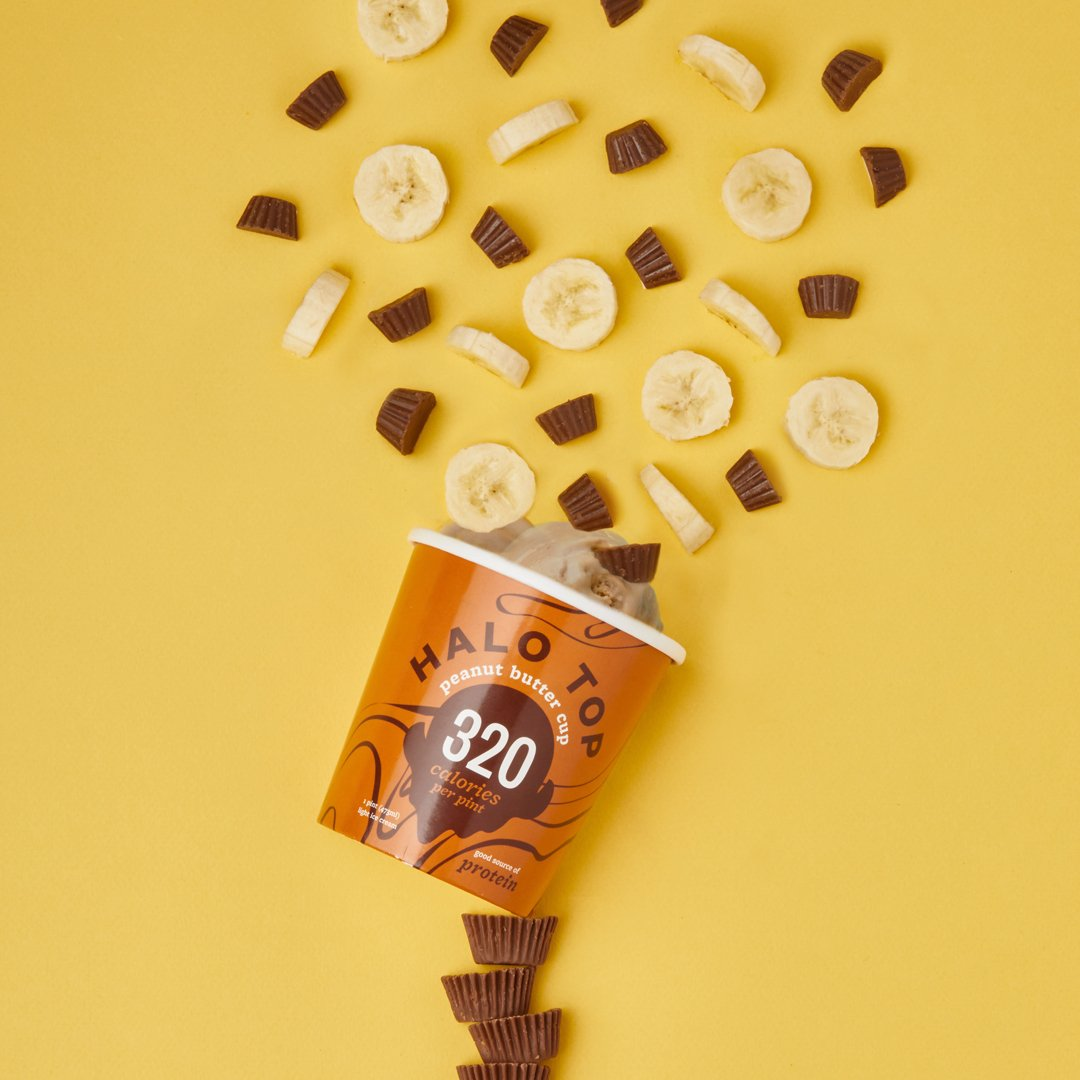 Wonderful Halo On Bananas Go Bananas Over Our Peanut Butter Halo On Bananas Go Bananas Over Our Peanut Butter Halo Peanut Butter Cup Review Halo Peanut Butter Cup Carbs nice food Halo Top Peanut Butter Cup