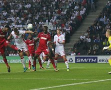 Video: Milton Keynes Dons vs Swansea City