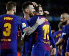 Video: Barcelona vs Eibar