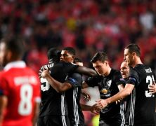 Video: Benfica vs Manchester United