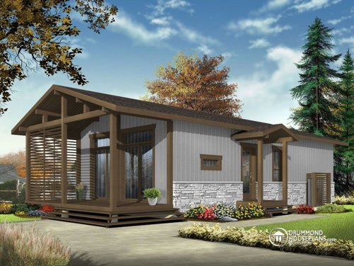 Medium Of Drummond House Plans