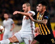 Video: AEK Athens vs AC Milan