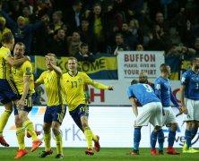 Video: Thụy Điển vs Italia