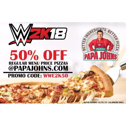 Medium Crop Of Papa Johns 50 Cent Pizza