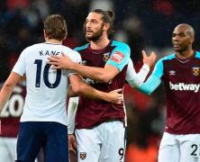 Video: Tottenham Hotspur vs West Ham United