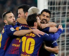 Video: Real Betis vs Barcelona