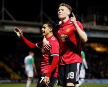 Video: Yeovil Town vs Manchester United