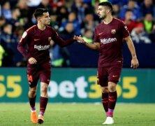 Video: Malaga vs Barcelona