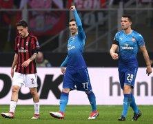 Video: AC Milan vs Arsenal