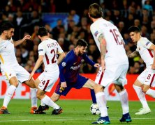 Video: Barcelona vs AS Roma