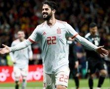 Video: Tây Ban Nha vs Argentina
