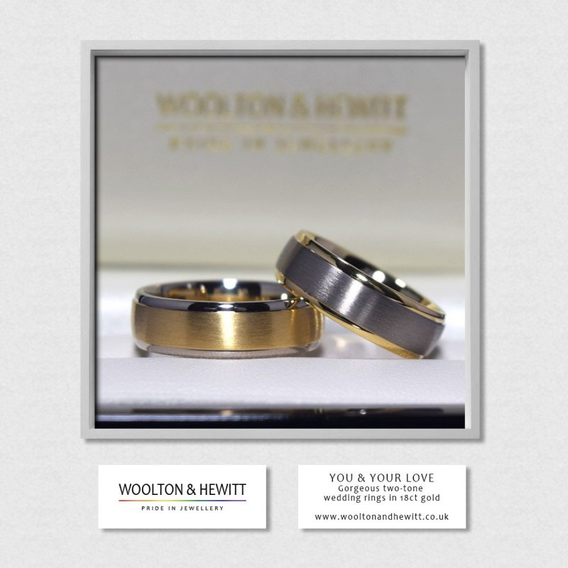 Swanky Wedding Rings Yellow G Madeto Order Just You Wh Gay Wedding Rings Twitter Lesbian Wedding Ring Ideas Lesbian Wedding Ring
