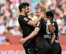 Video: Bayer Leverkusen vs Eintracht Frankfurt