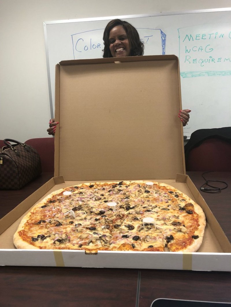 Large Of Worlds Biggest Pizza