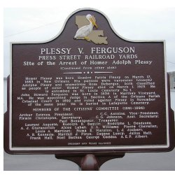 Small Crop Of Why Was Homer Plessy Arrested