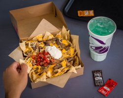 Swish A Big Taco Bell On Your S On New Steak Nachos Nacho Fries Box Taco Bell Nutrition Nacho Fries Box Gone Taco Bell On Your S On New Steak Nachos
