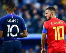 Video: Pháp vs Bỉ