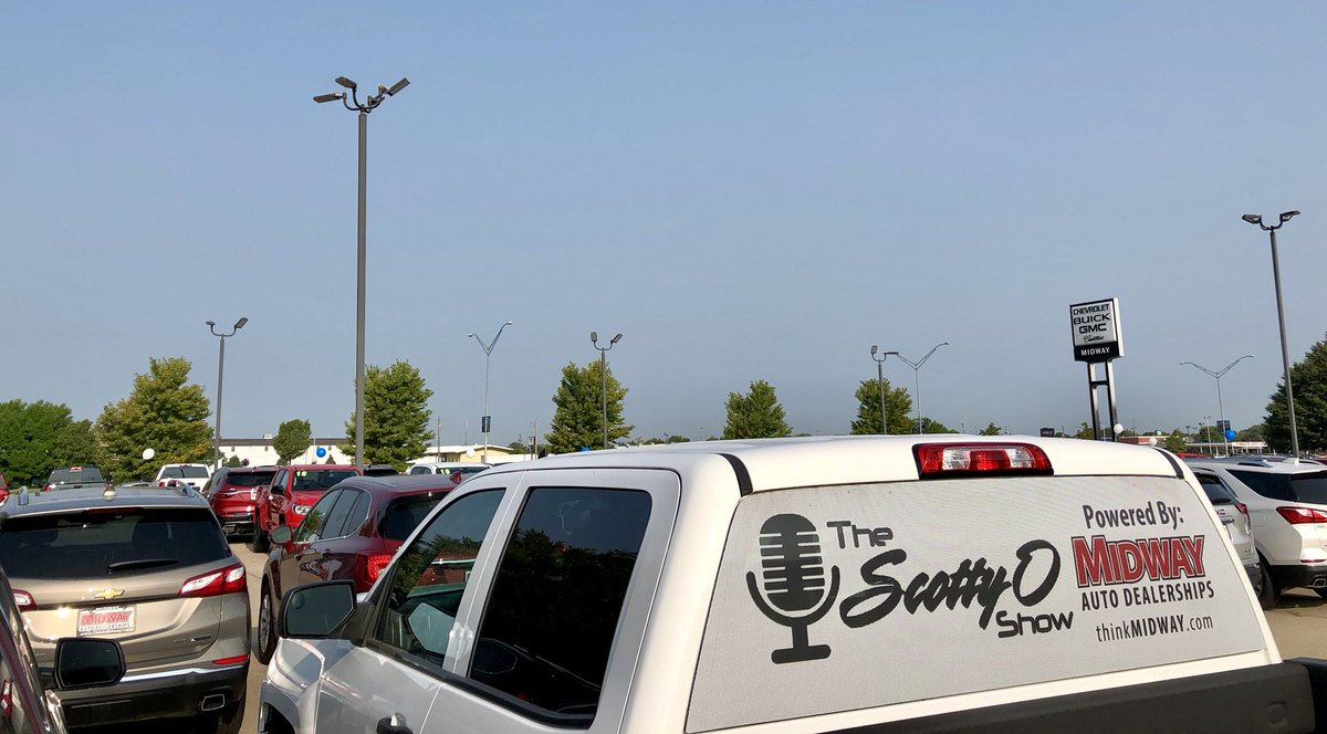 Midway Dealerships   thinkmidway    Twitter Come see  ScottyOShow  thinkmidway GM until 11   Y102SocialZone  http   thinkmidway com pic twitter com ejeOvzP9sj     at Midway Chevrolet  Buick Cadillac