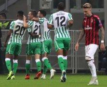 Video: AC Milan vs Real Betis