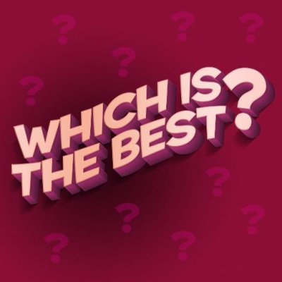 Which is the best? (@witbpodcast) | Twitter