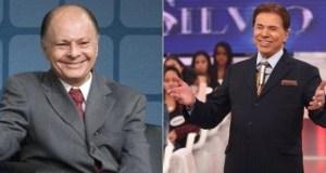 Edir Macedo e Silvio Santos