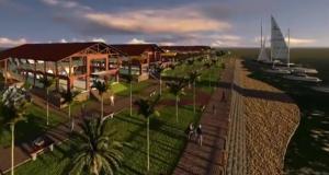 Local terá uma praça de eventos, um mercado de artesanato, quatro restaurantes que serão licitados e ocupará uma área de 26 mil metros quadrados.