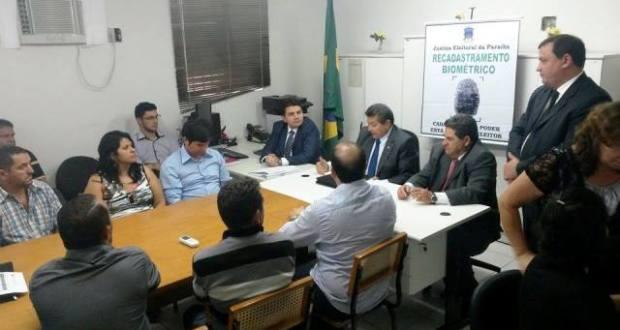 TRE-PB firma convênio com prefeituras para o recadastramento biométrico