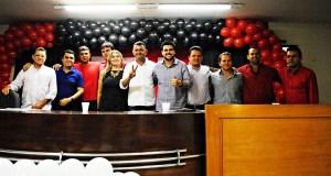 Wilson Santiago e Wilson Filho prestigiaram convenção