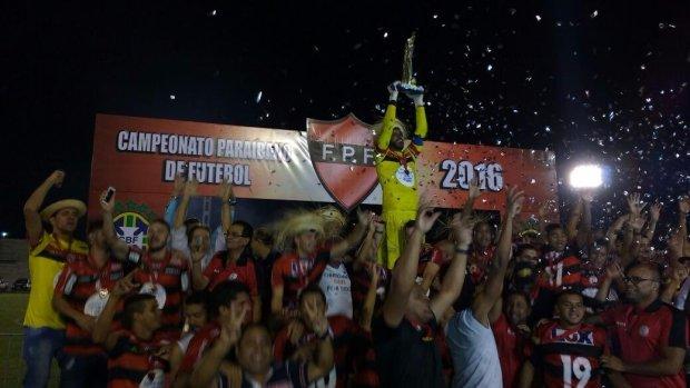 Campinense perde para o Botafogo, mas se sagra bicampeão paraibano