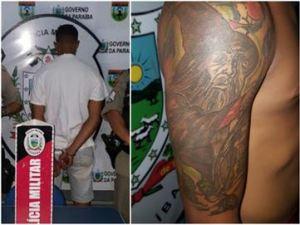 Tatuagens indicam participação em crimes, diz PM