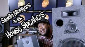 studiomonitorsVShousespeakers