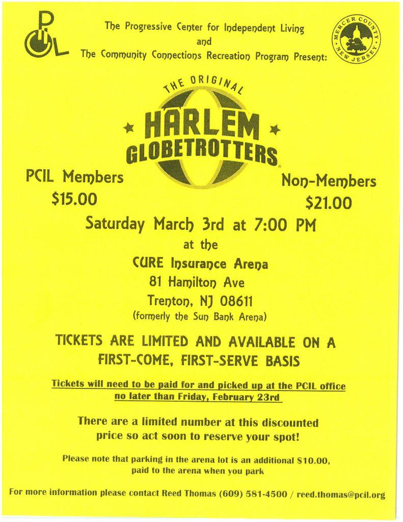 PCIL Harlem Globetrotters Recreation