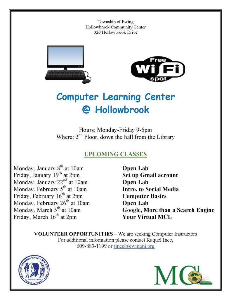 Hollowbrook Computer Learning Center and Library