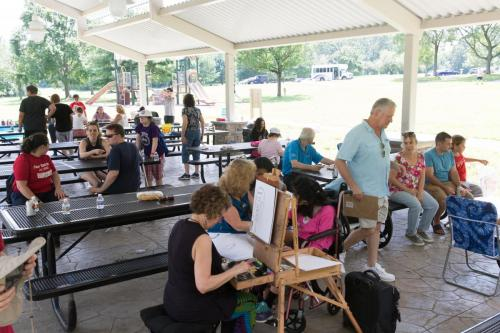 6C1A73872019 Annual Picnic and Pontoon Boats