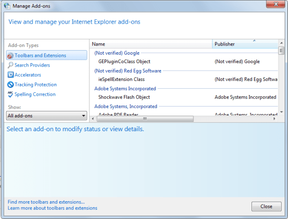IEAddOns Guide to Speed Up Internet Explorer