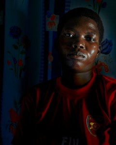 "Photo Center Certificate Program Class of 2008, Eberhard Riedel ""Florence ( y/o) - Former Child-Soldier, 2010,"""