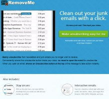 RemoveMe Lets You Unsubscribe From Junk Email