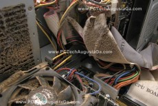 Compaq PC Dust Disaster