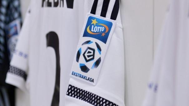 koszulka Legii z logiem Lotto Ekstraklasy